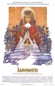 david bowie Labyrinth locandina