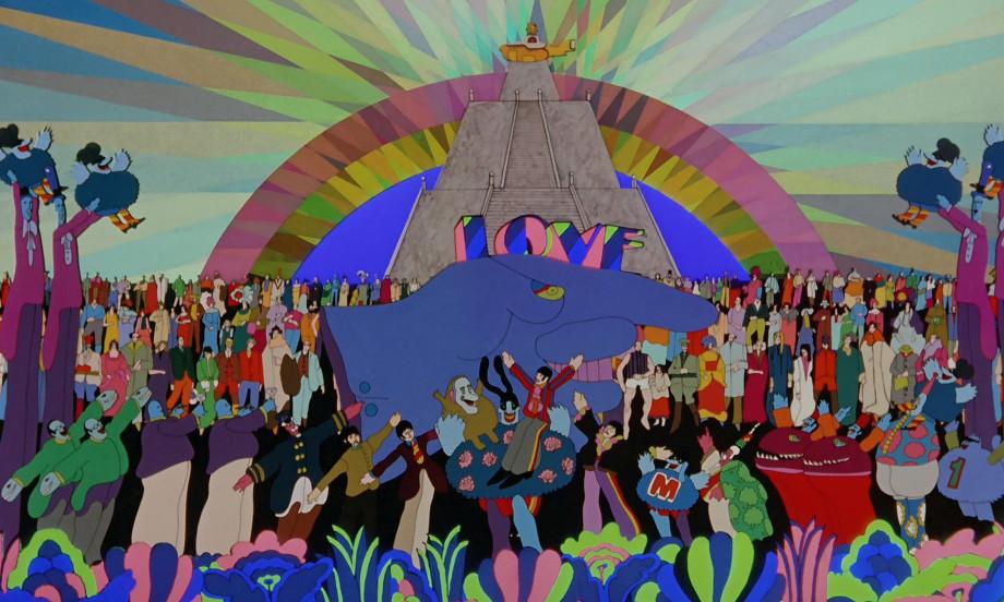 The beatles: yellow submarine leitmovie associazione culturale